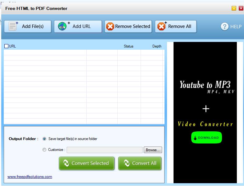 free download html to pdf converter