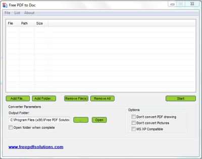 Free PDF to DOC Converter