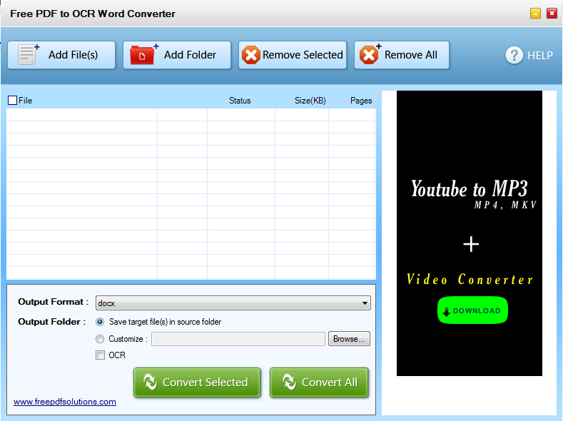 Free PDF to OCR Word Converter