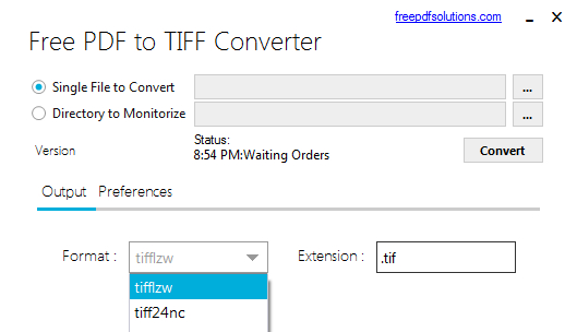 pdf to tiff converter software free download