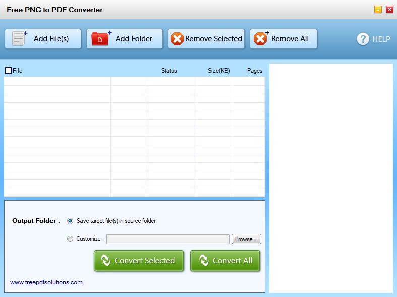Free PNG to PDF Converter