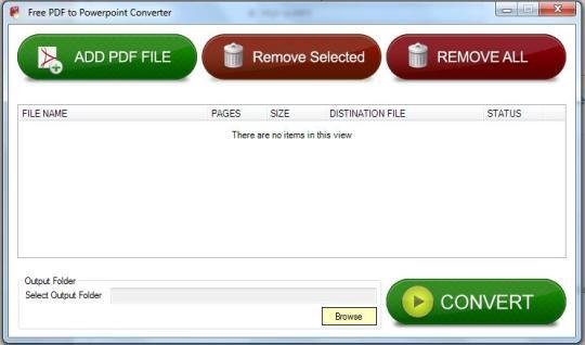 Free PDF to Powerpoint Converter